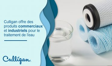 verre d'eau avec filtres